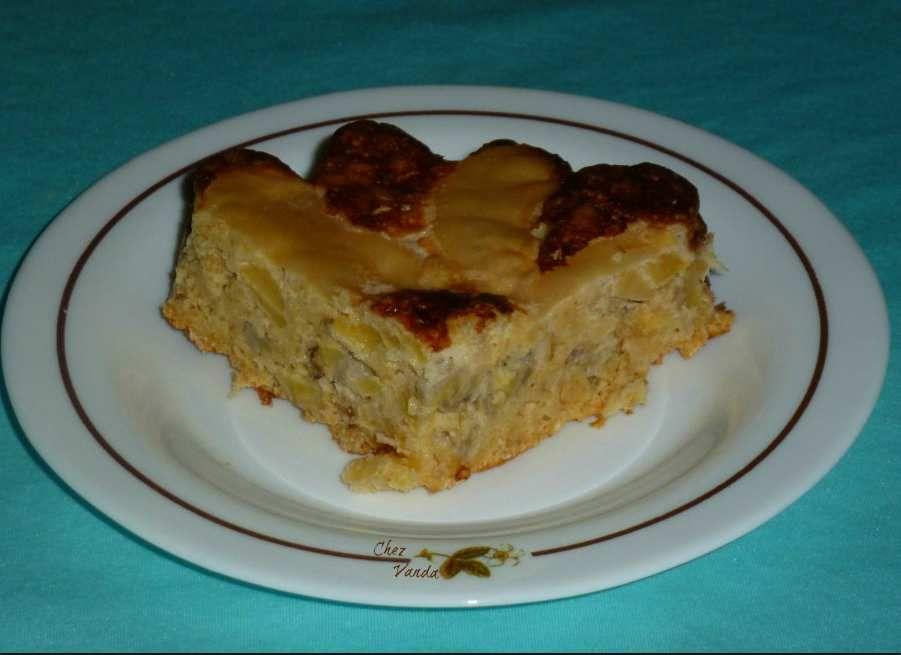 Gâteau d'avoine invisible