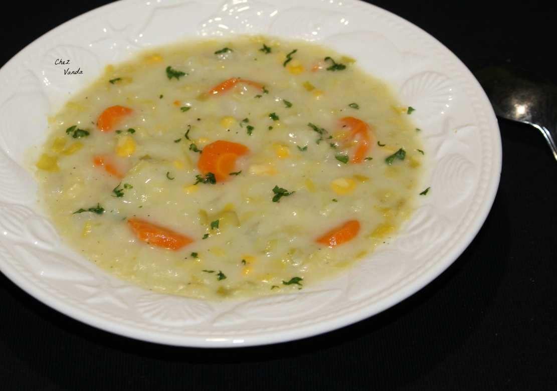 Soupe d'automne crémeuse