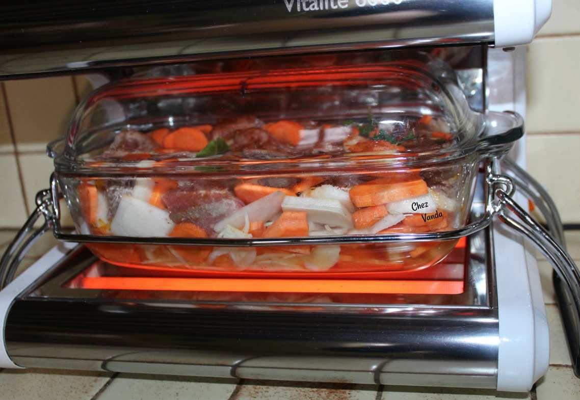 Boeuf  mode aux carottes et aux navets