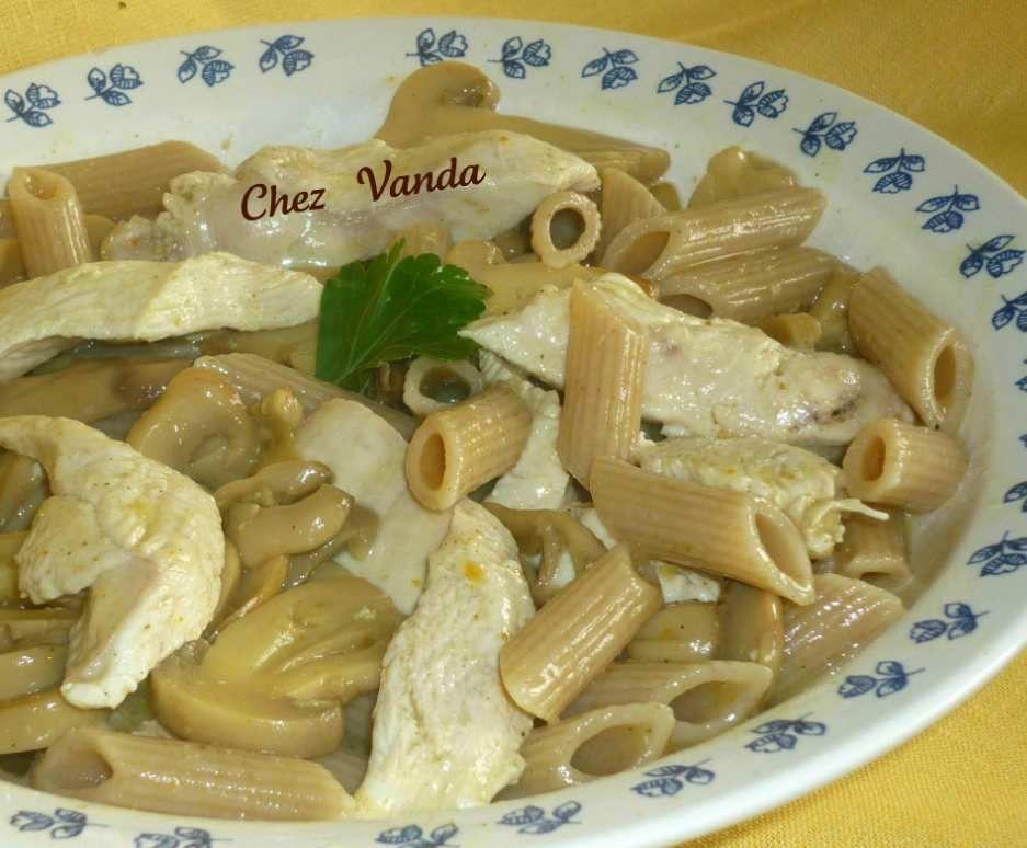 Cassolette de poulet au curry (pour  1 pers)
