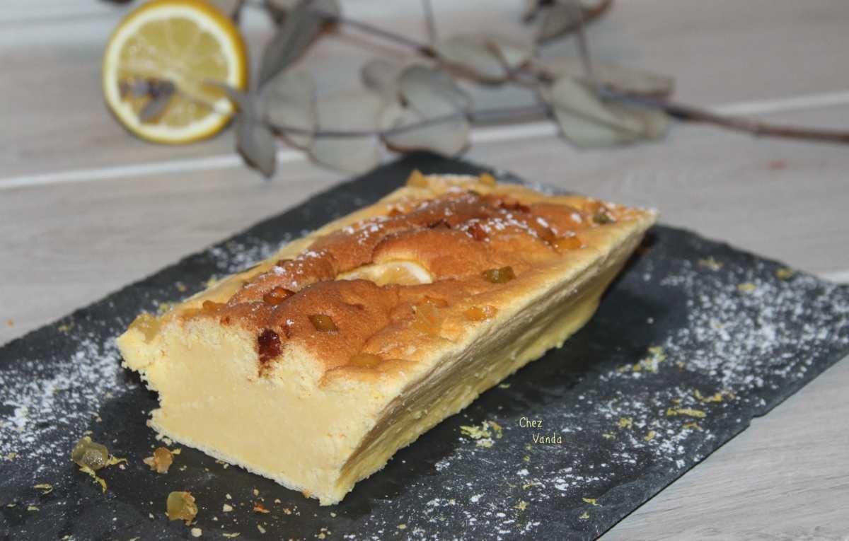 Cake au citron (sans beurre)