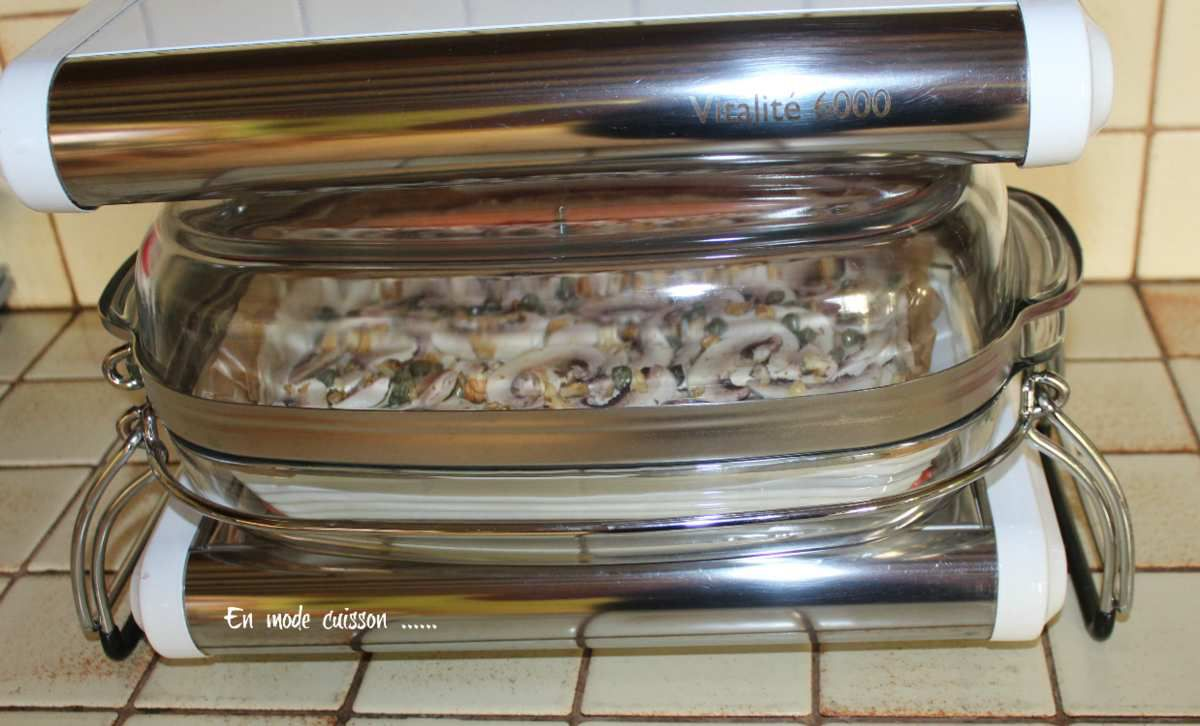 Quiche automnale aux champignons , thon et  noix
