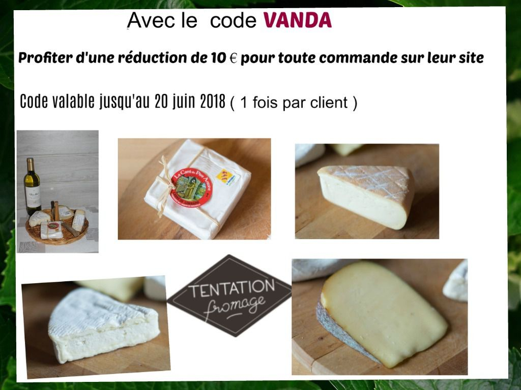 ♥Tentation Fromage s'invite à ma table ♥