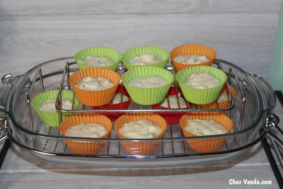 Muffins  façon banana bread au muesli