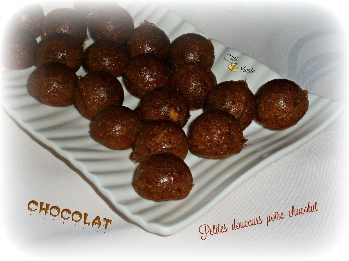 petites douceurs poire chocolat recette ww