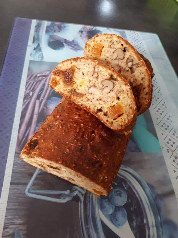 Cake d'avoine aux fruits secs