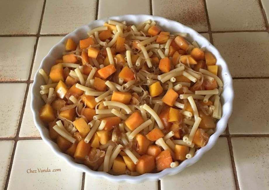 Gratin de macaronis à la butternut et aux 3 fromages (+bons de réduction )