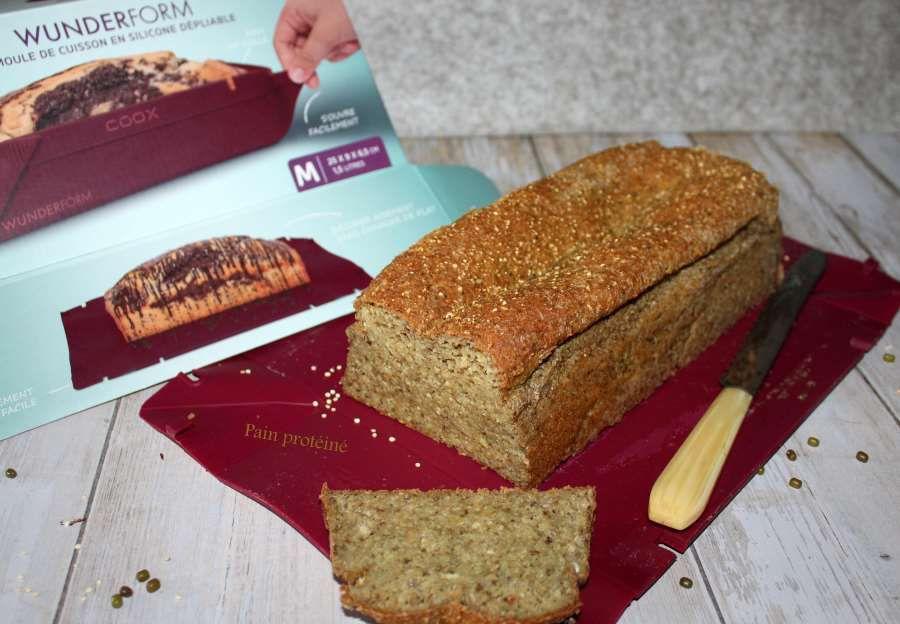 pain protéiné haricots mungo