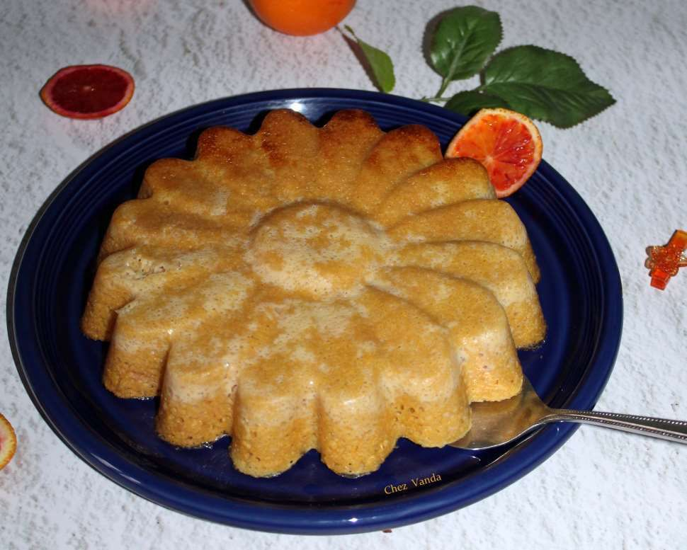 gâteau polenta a  l'orange