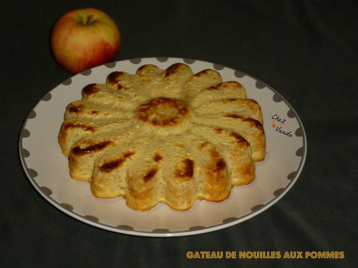 gateau de nouilles aux pommes