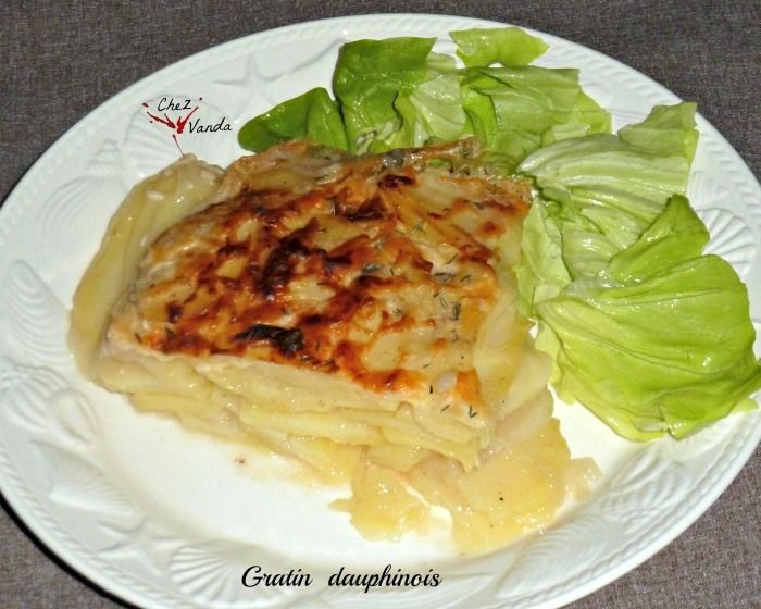 Gratin dauphinois RECETTE WW