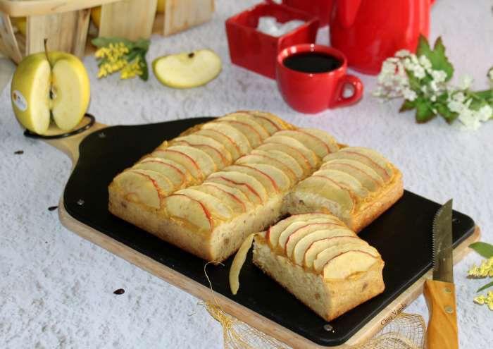 Gâteau pommes figues  à l'omnicuiseur