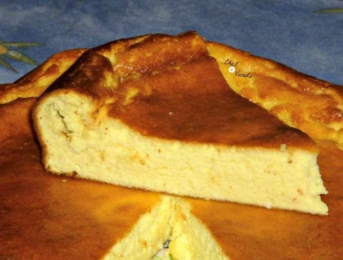 Gâteau au fromage blanc à la noix de coco recette ww