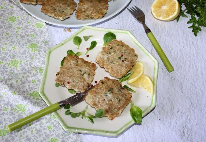 galettes de veau au quinoa