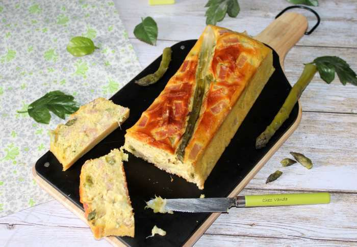 cake asperges bacon rweightwatchers