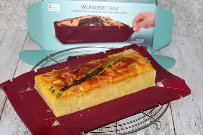 cake asperges bacon omnicuiseur