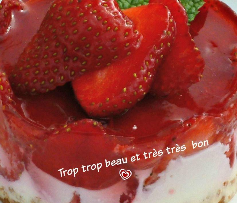 bavarois aux fraises recette ww