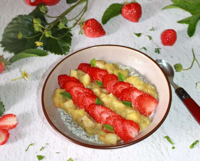 Pudding-chia-Weight watchers