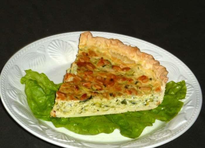 Tarte-courgette-boursin-weight watchers