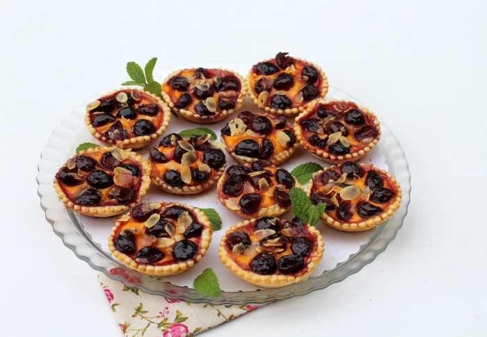 tartelettes aux cerises recette ww