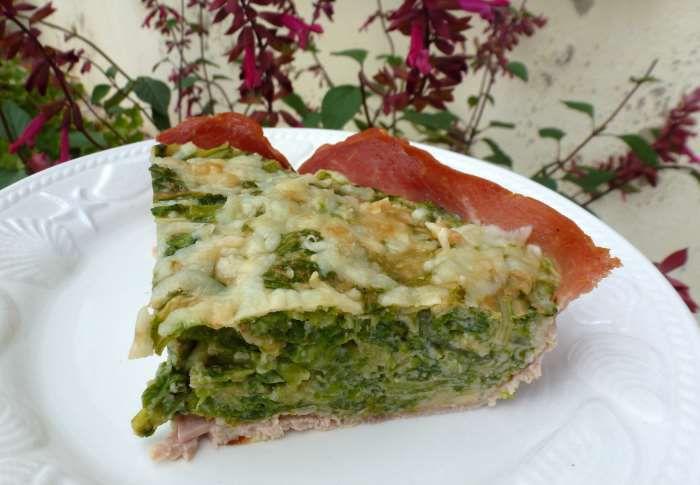 Gâteau de salade semoule au jambon  recette ww