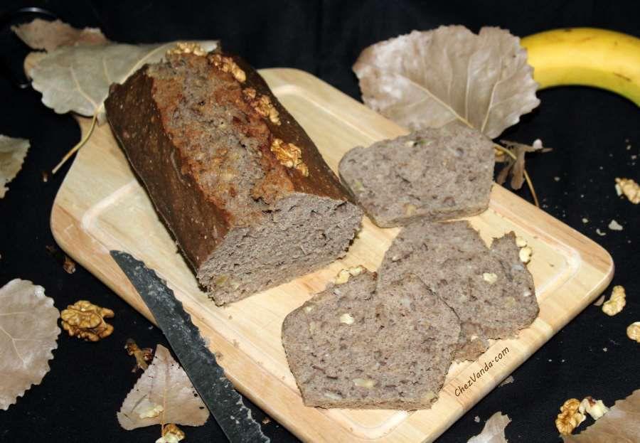 pain  à la banane et a la farine de sarrasin  à l'omnicuiseur vitalité
