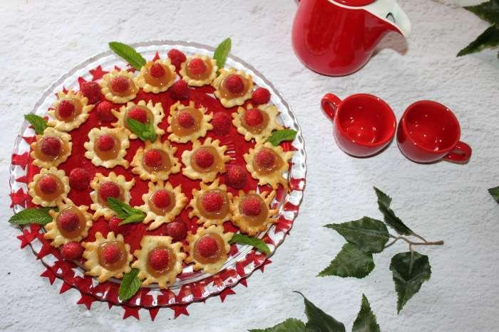 petits palets apple  strawberry recette ww