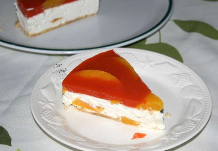 cheesecake  pêches carottes weight watchers