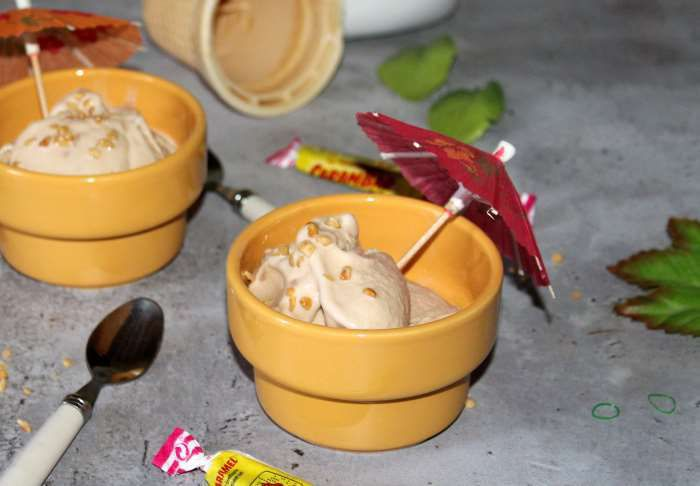Glace aux carambars recette weight watchers