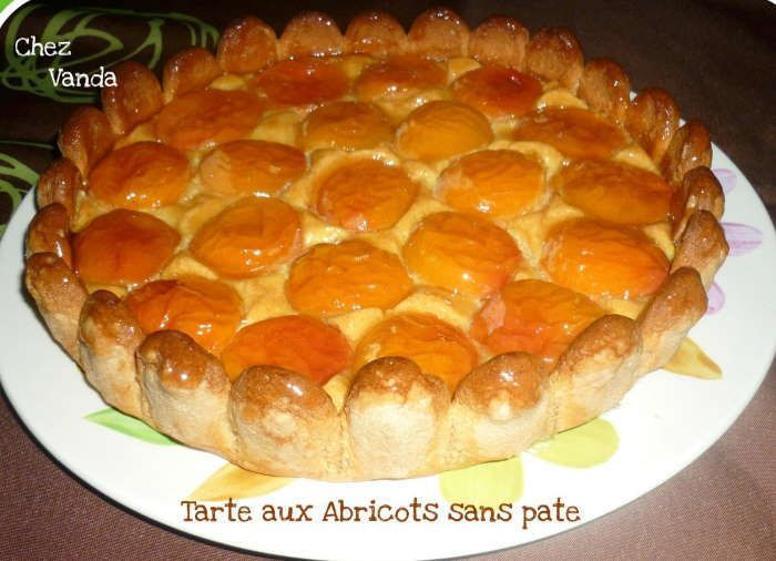 tarte aux abricots en pate de biscuits recette weight watchers