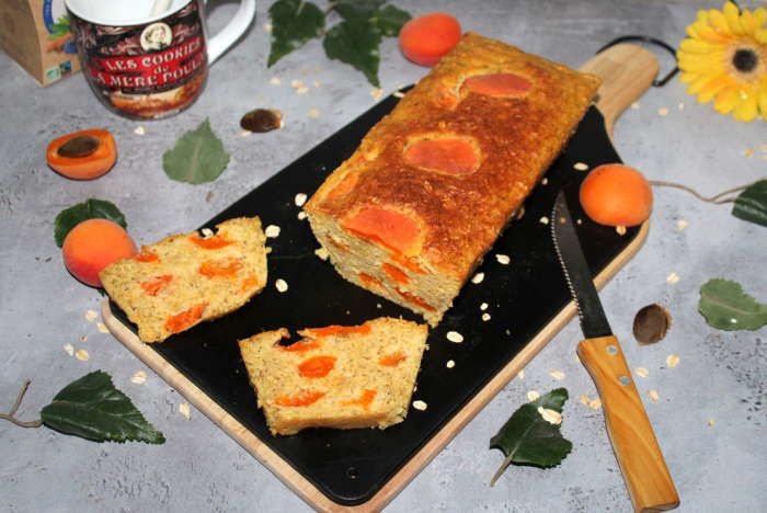 Cake d'avoine  abricots et cardamome recette weight watchers