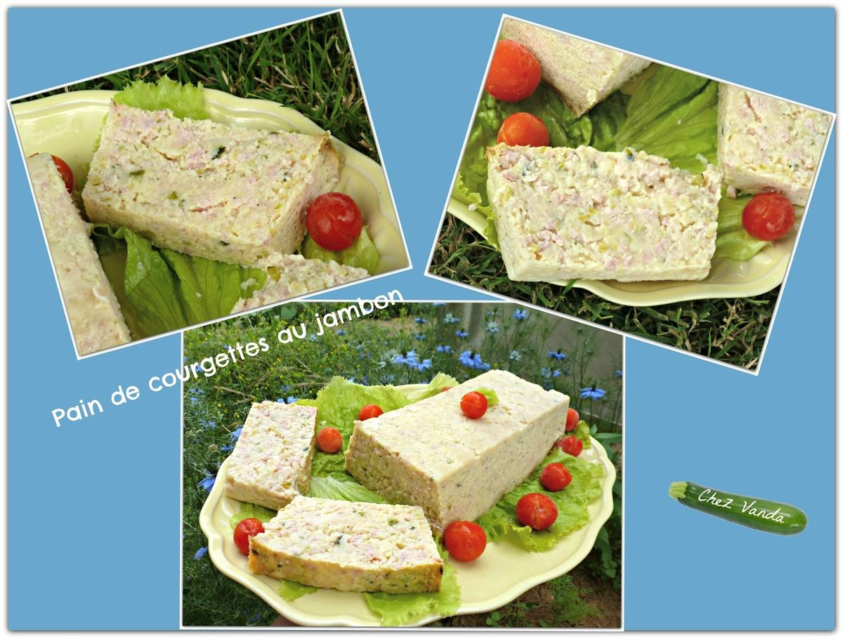 Terrine de courgettes au jambon recette weight watchers