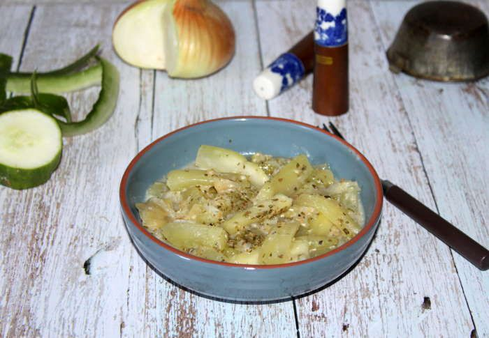 conconbres chaud a la sauce blanche recette weight watchers