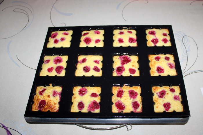 Petites tablettes citron framboises recette weight watchers