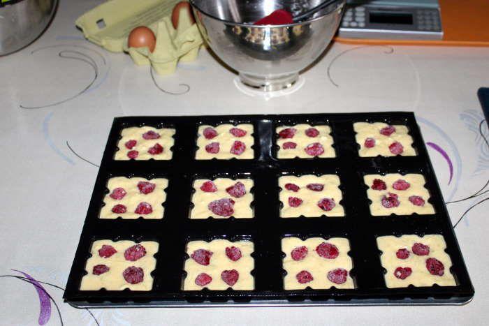 petites tablettes citron framboises recette ww