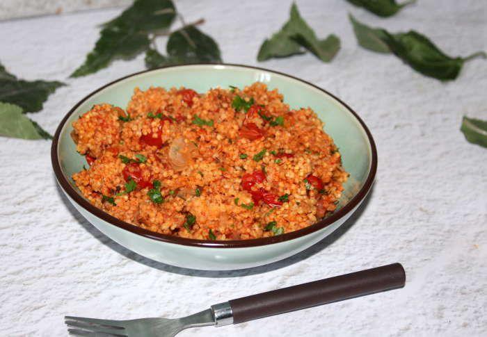 millet a la tomate recette weightwatchers
