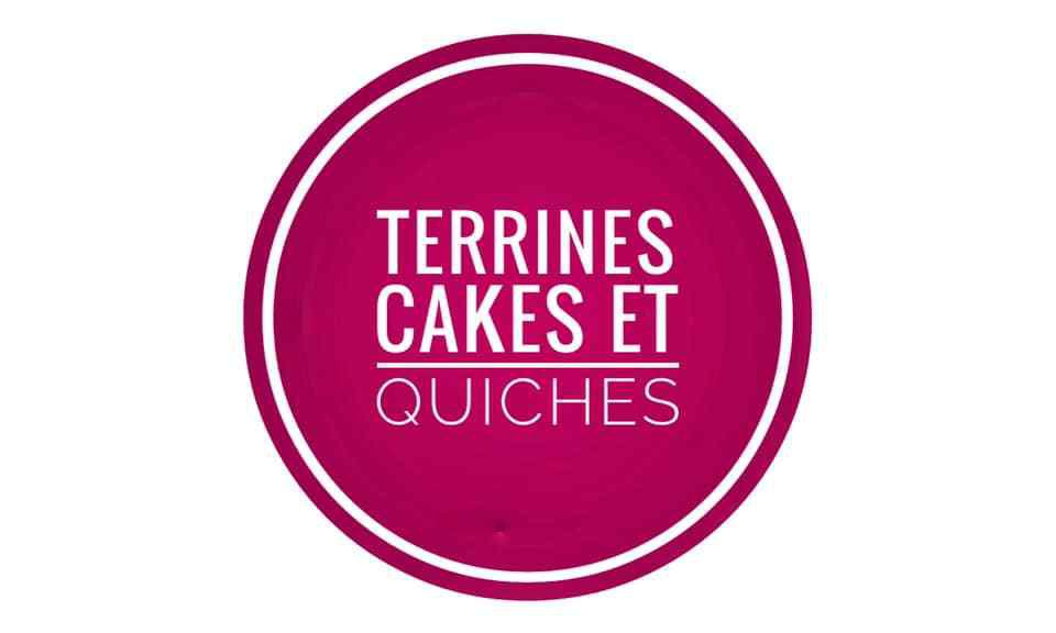 terrines , quiches ,  tartes et cakes salés  Weight watchers