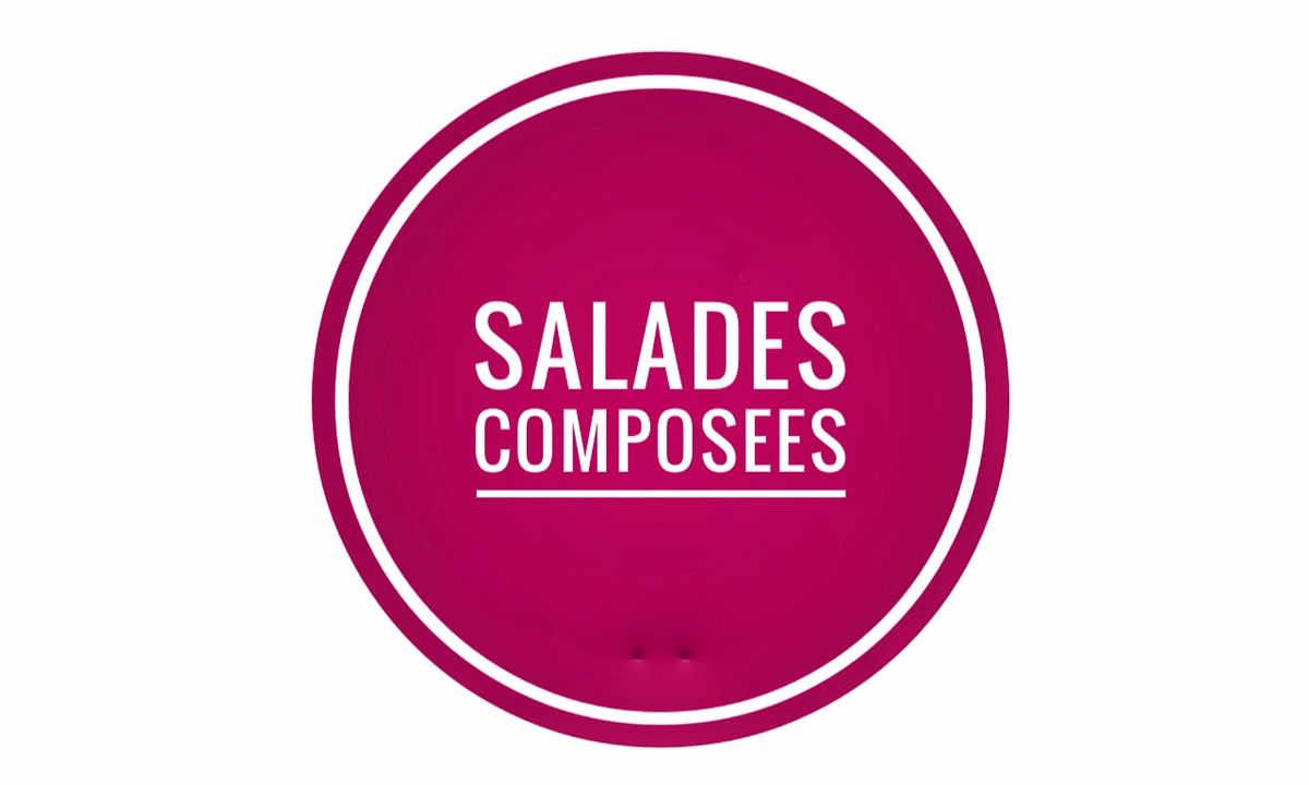 Salades composées Weight Watchers