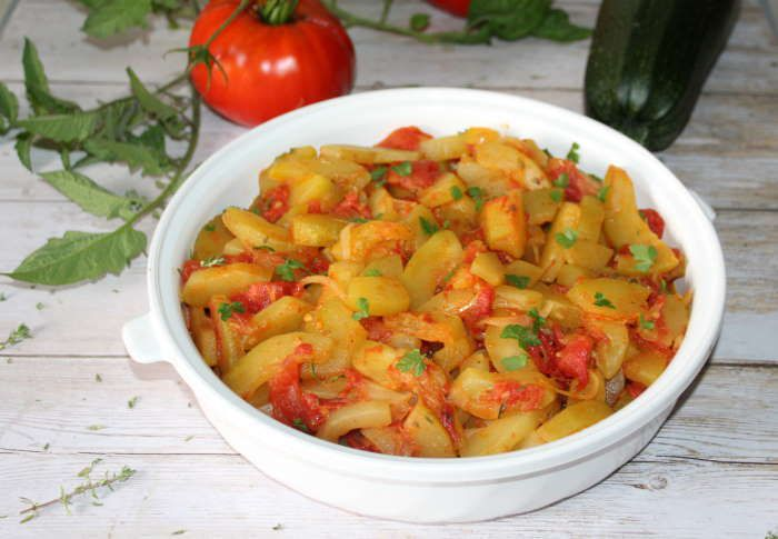 accompagnement-weightwatchers-tomate-courgette-légume