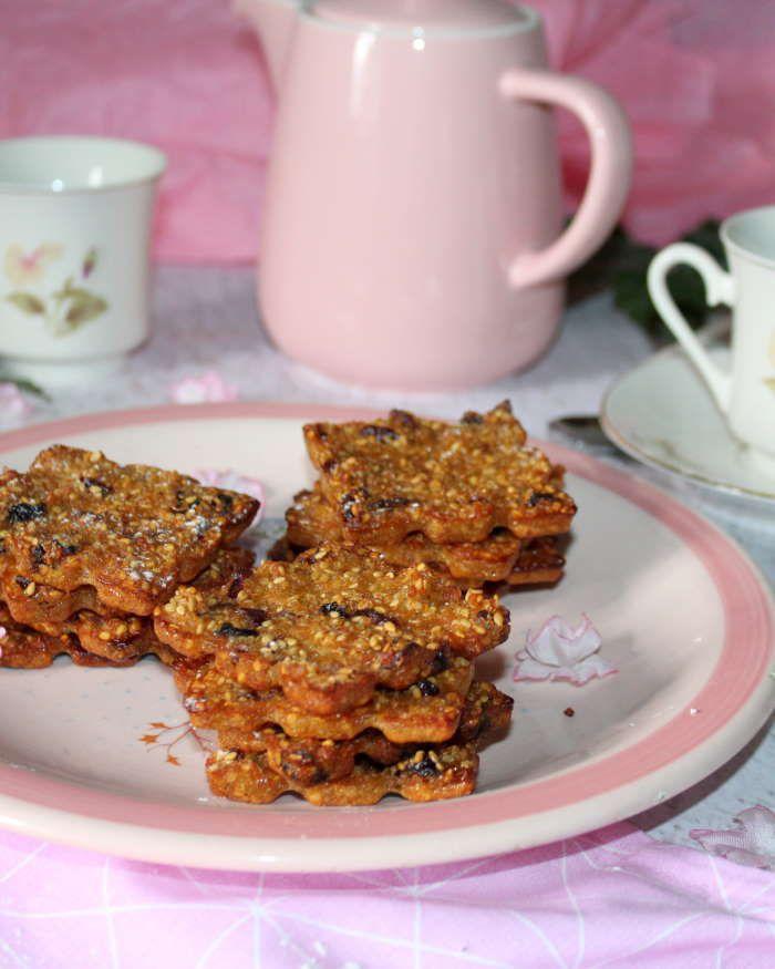 Biscuits au quinoa et aux cramberries