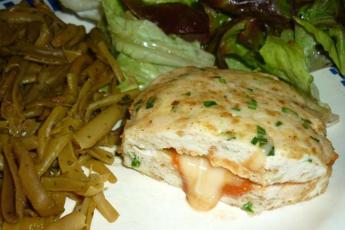 galette-poulet-fromage-recette-ww