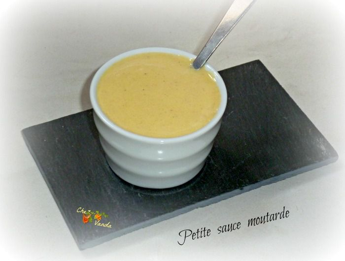 Petite sauce moutarde ( pour 1 pers)