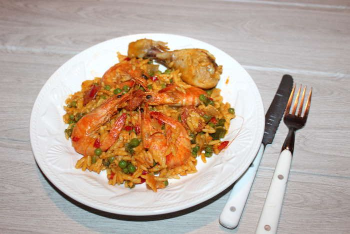 plat-complet-pates-paella-recette-weightwatchers