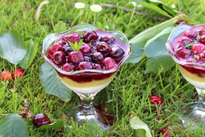 verrines-dessert-rhubarbe-cerises