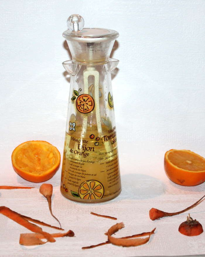 Vinaigrette au jus d'orange