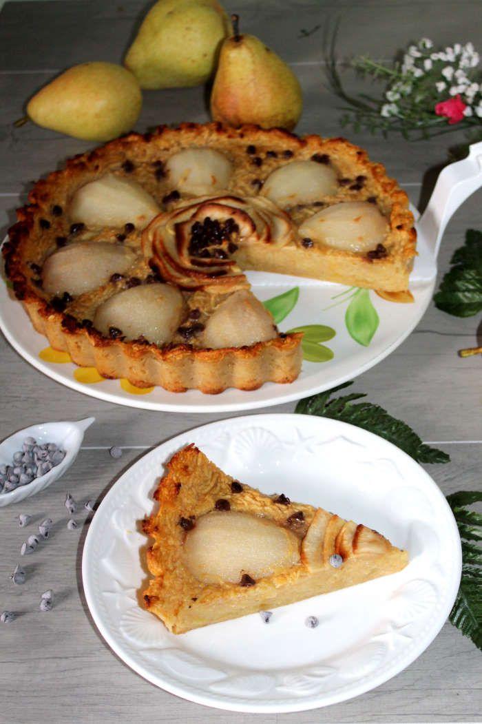 Tarte pommes poires et ses pépites (sans pâte à tarte)