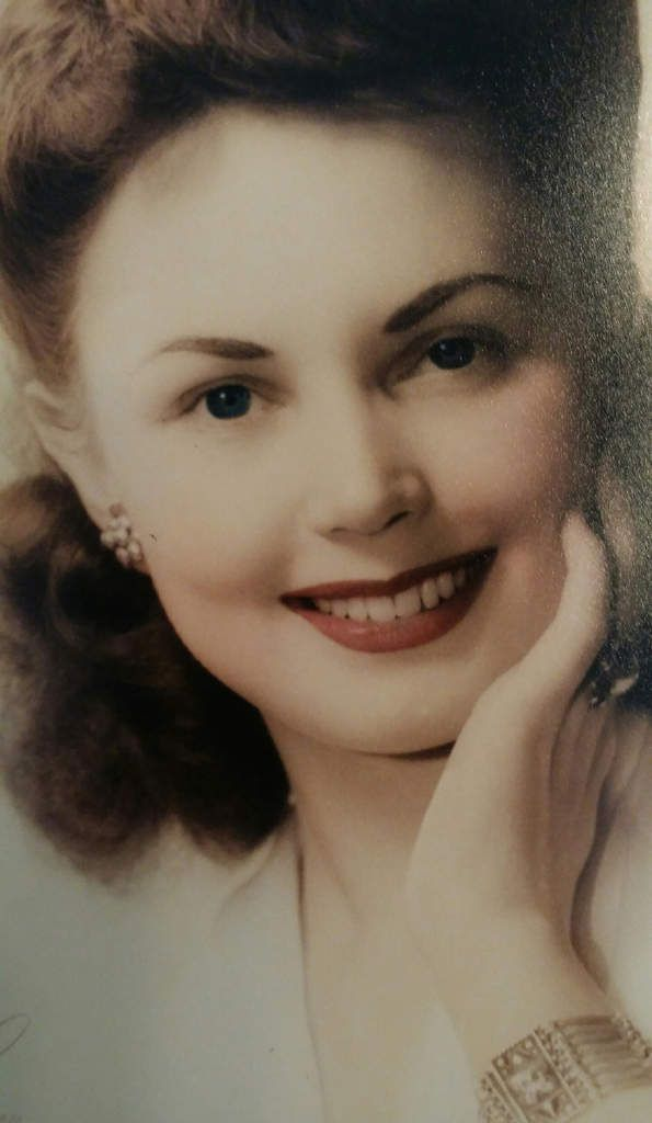 Betty Morelius Winslow - Copyright Winslow family