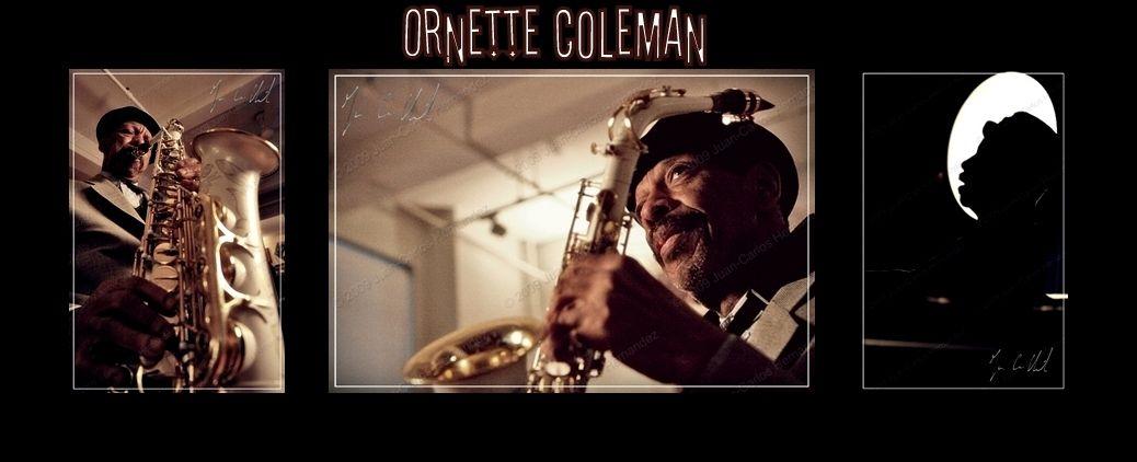 Orntette Coleman par Juan Carlos HERNANDEZ
