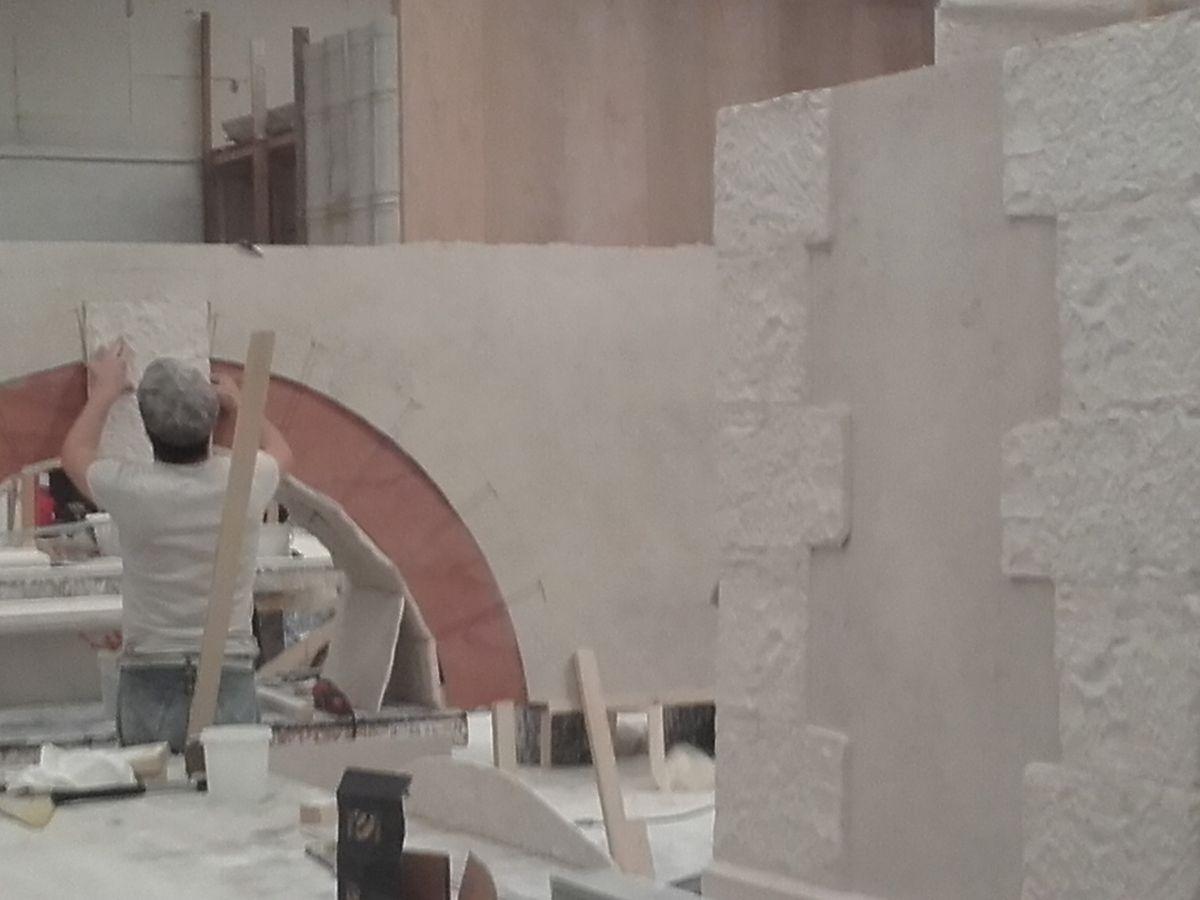 L'Empereur de Paris ,,Décor , fabrication atelier