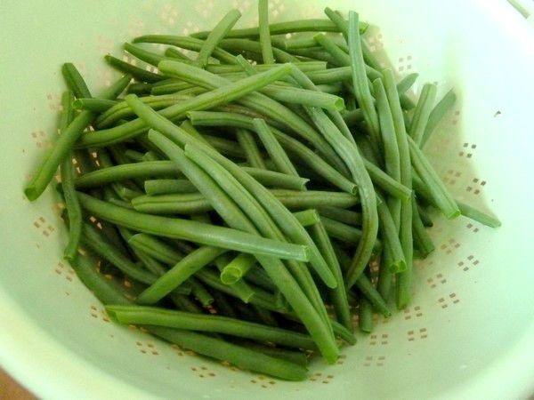 J'avais préparé des haricots verts à la liégeoise...